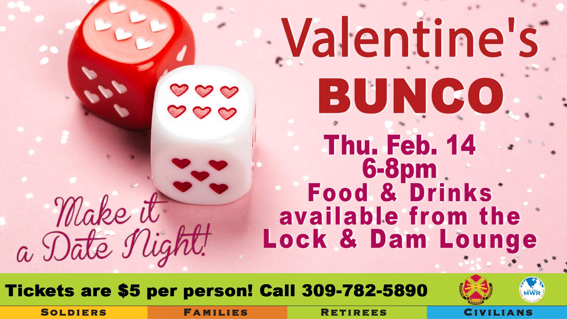 Valentine's Bunco