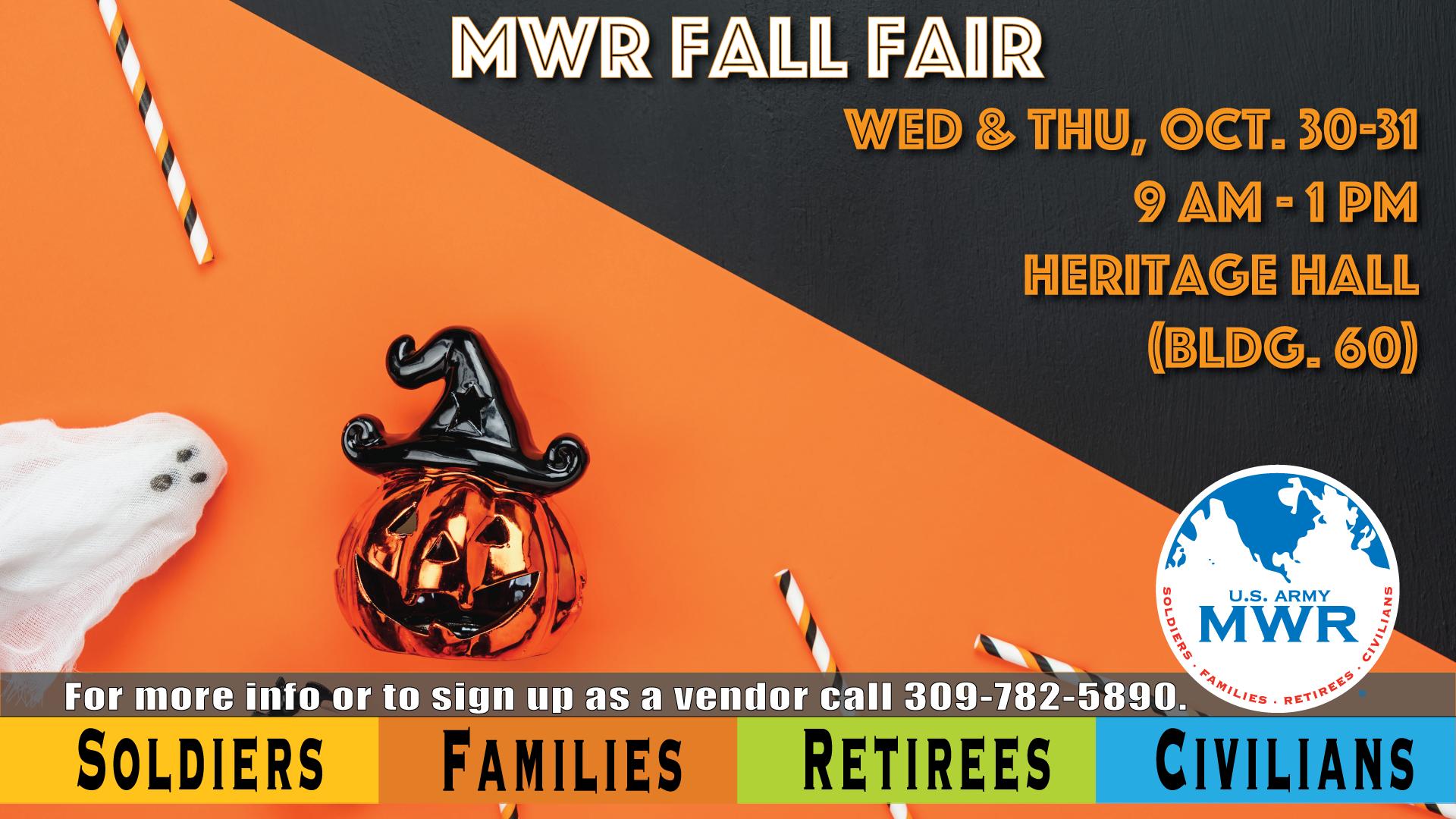 MWR Fall Fair