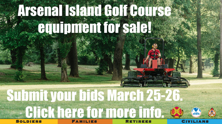 Golf Course Equipment Sale