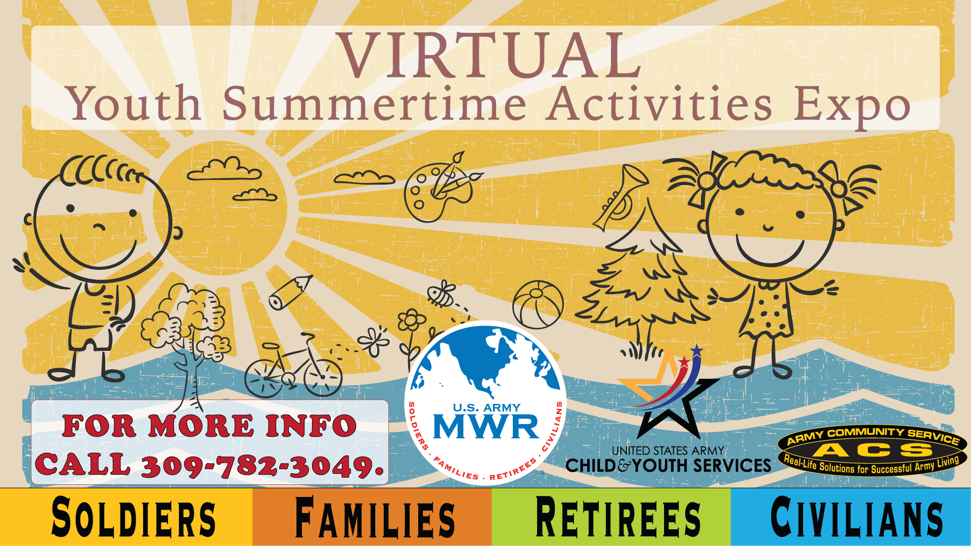 Virtual Youth Summertime Activities Expo