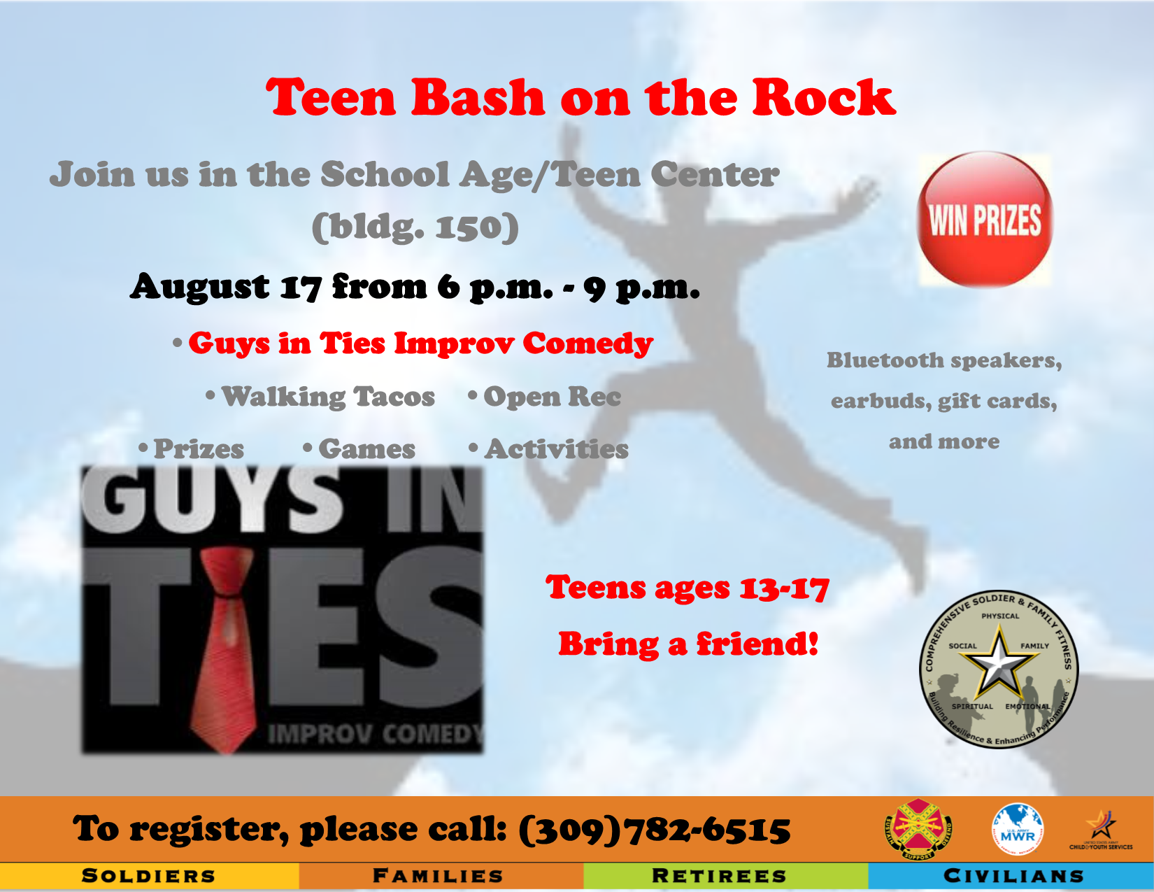 Teen Bash on the Rock