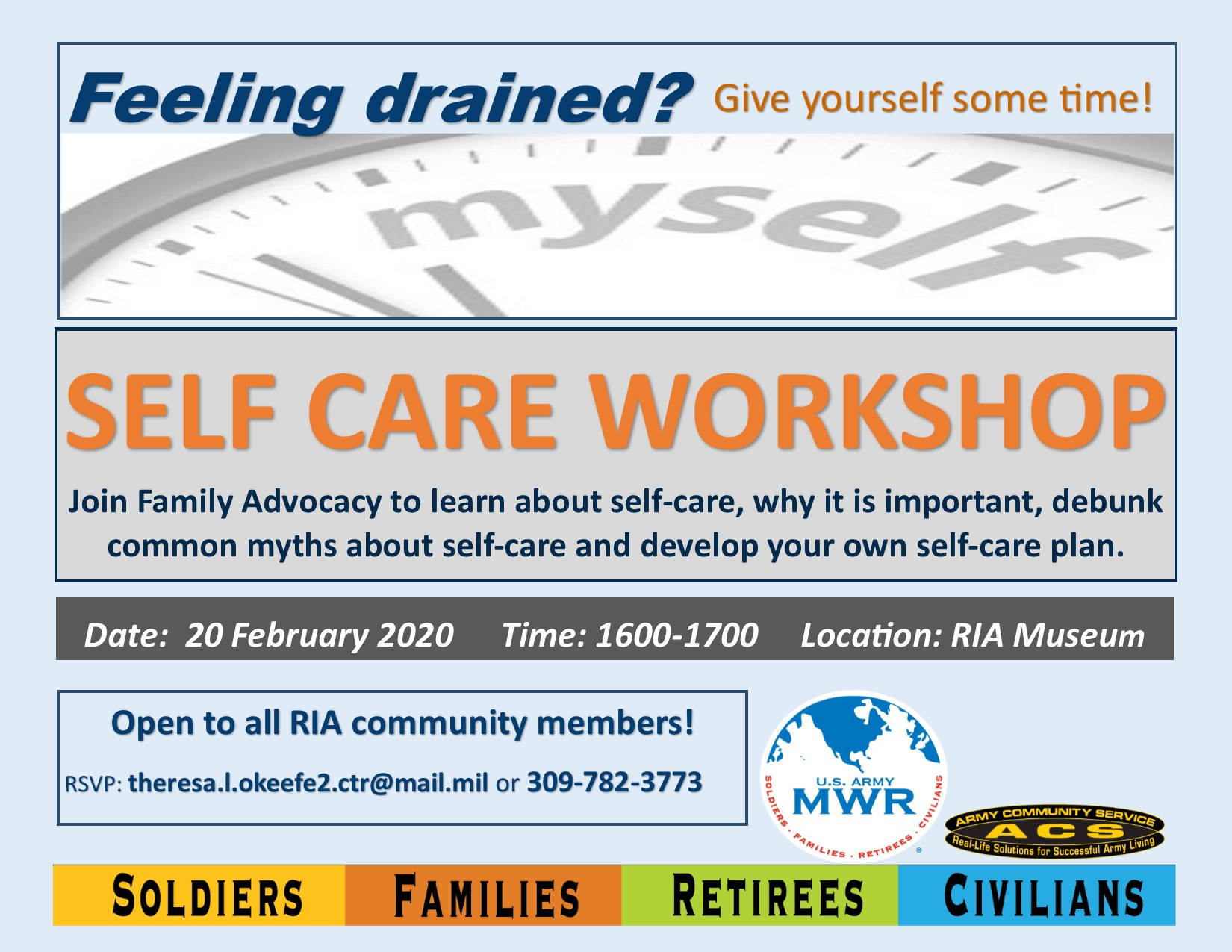 Self Care Workshop