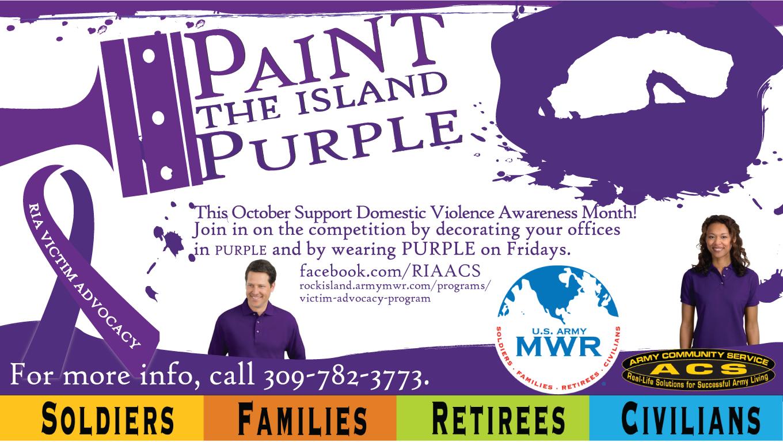 Paint the Island Purple