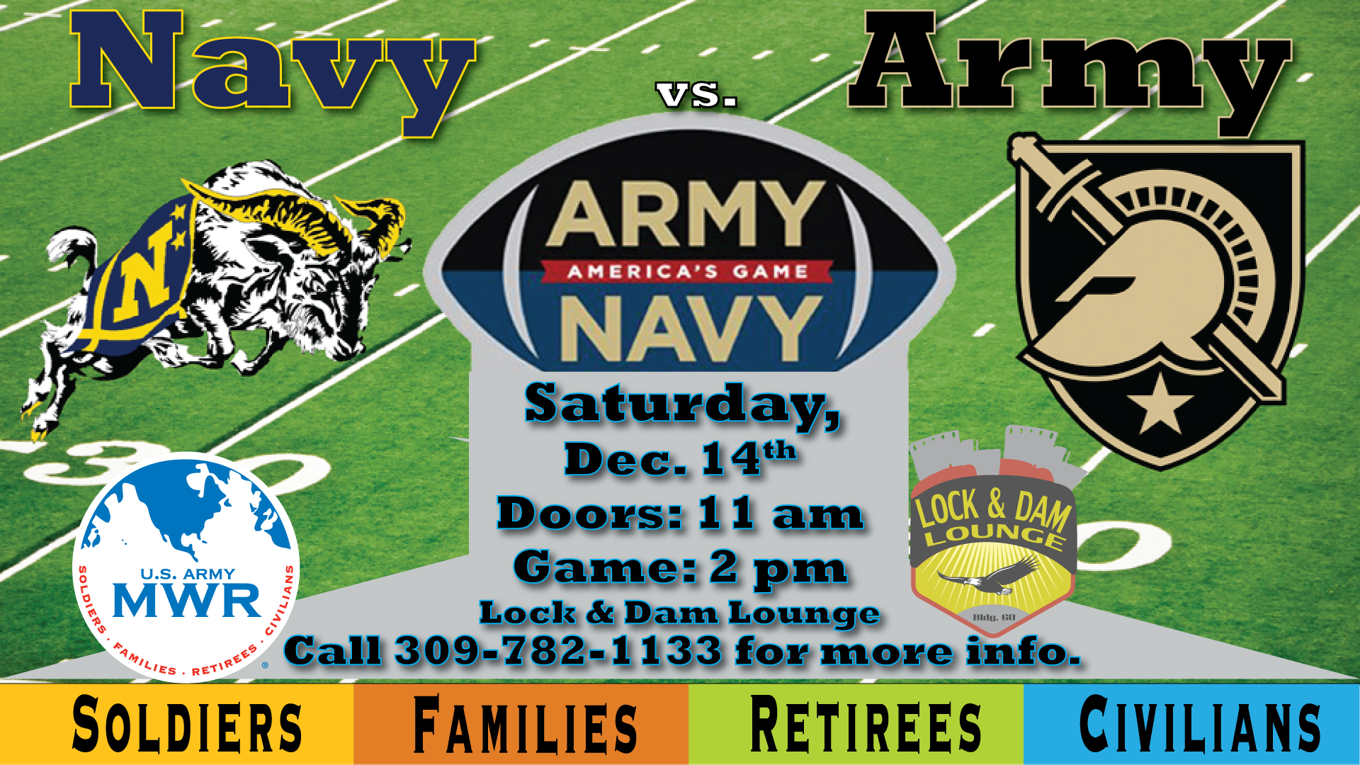 Army Navy Game Party