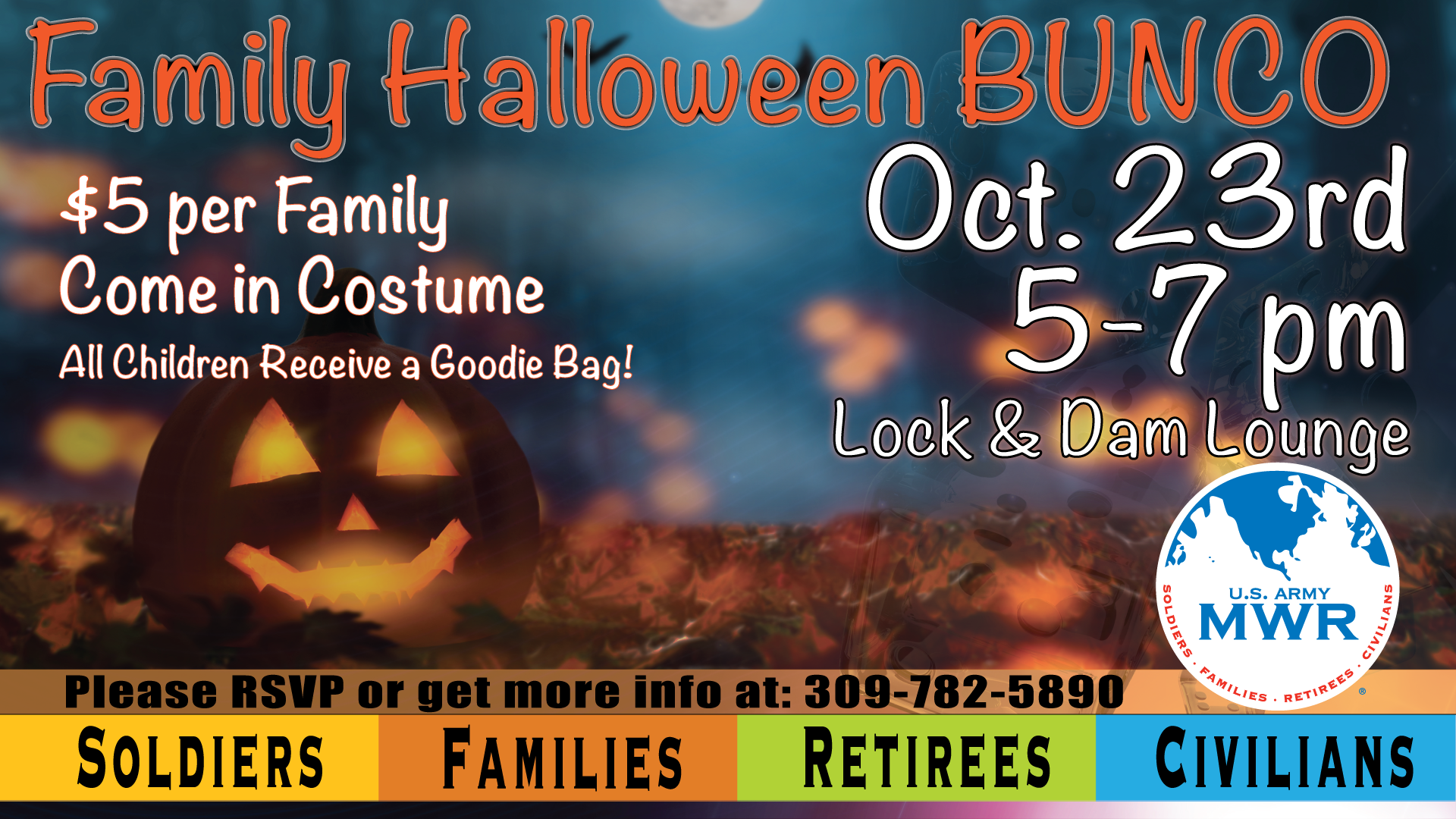 Family Halloween Bunco