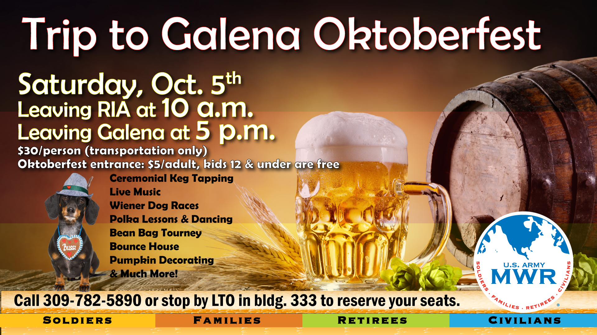 Trip to Galena Oktoberfest