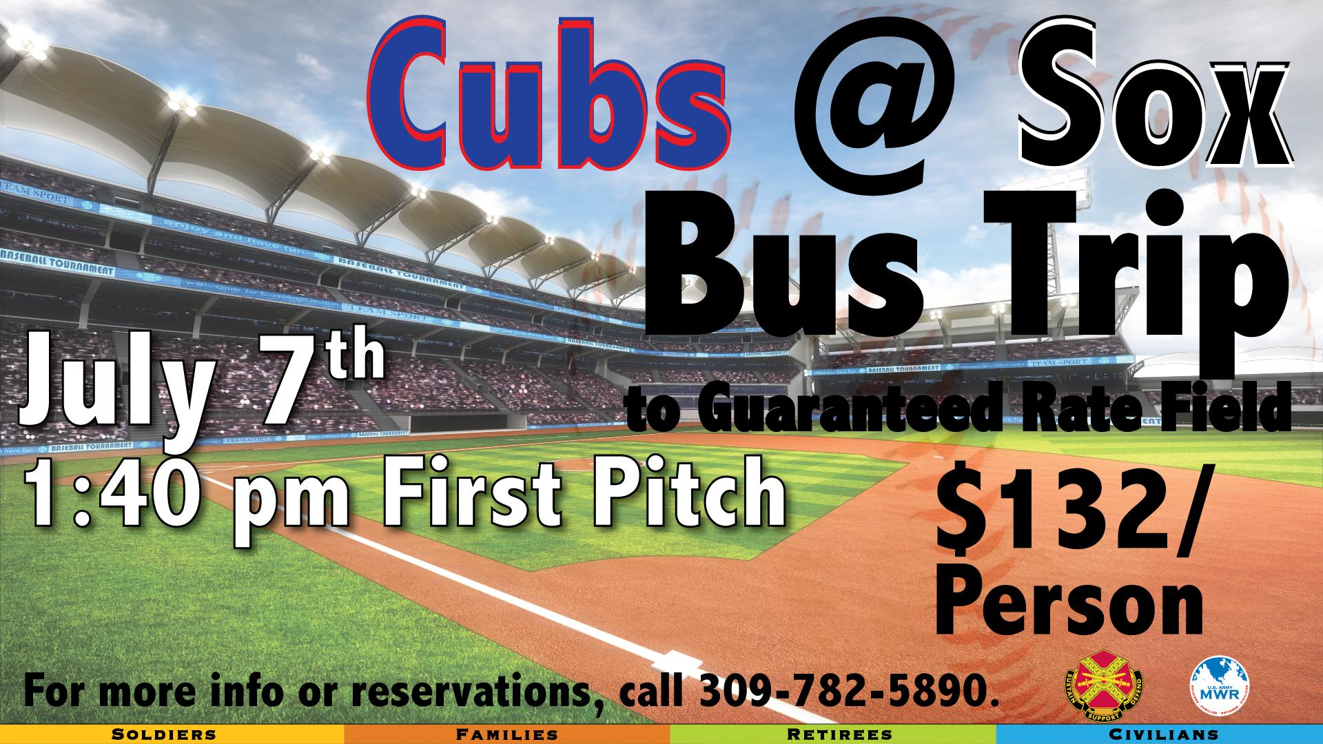 Cubs @ Sox Bus Trip