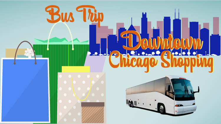 Downtown Chicago Shopping Bus Trip