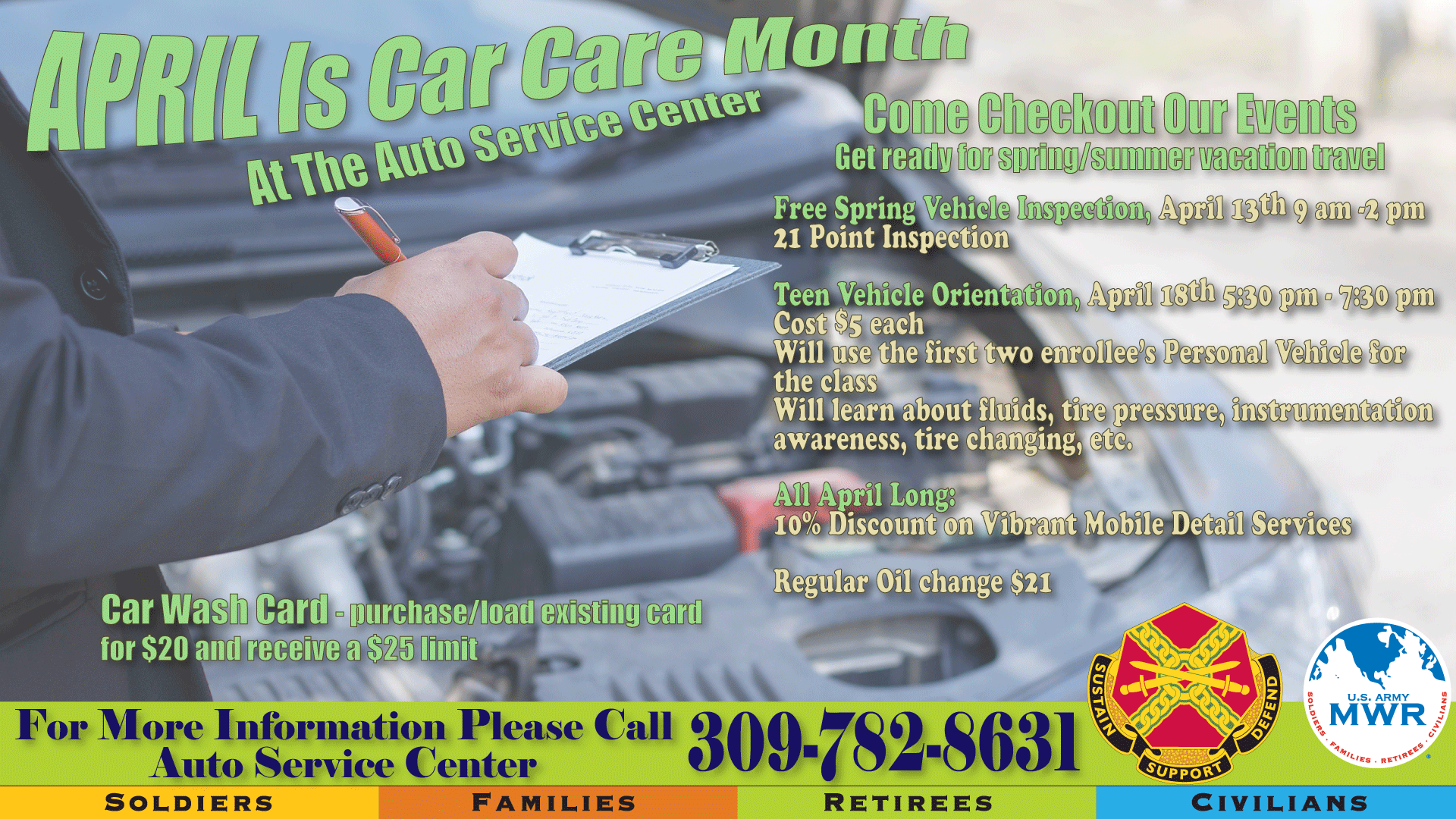 Spring Car Care Month