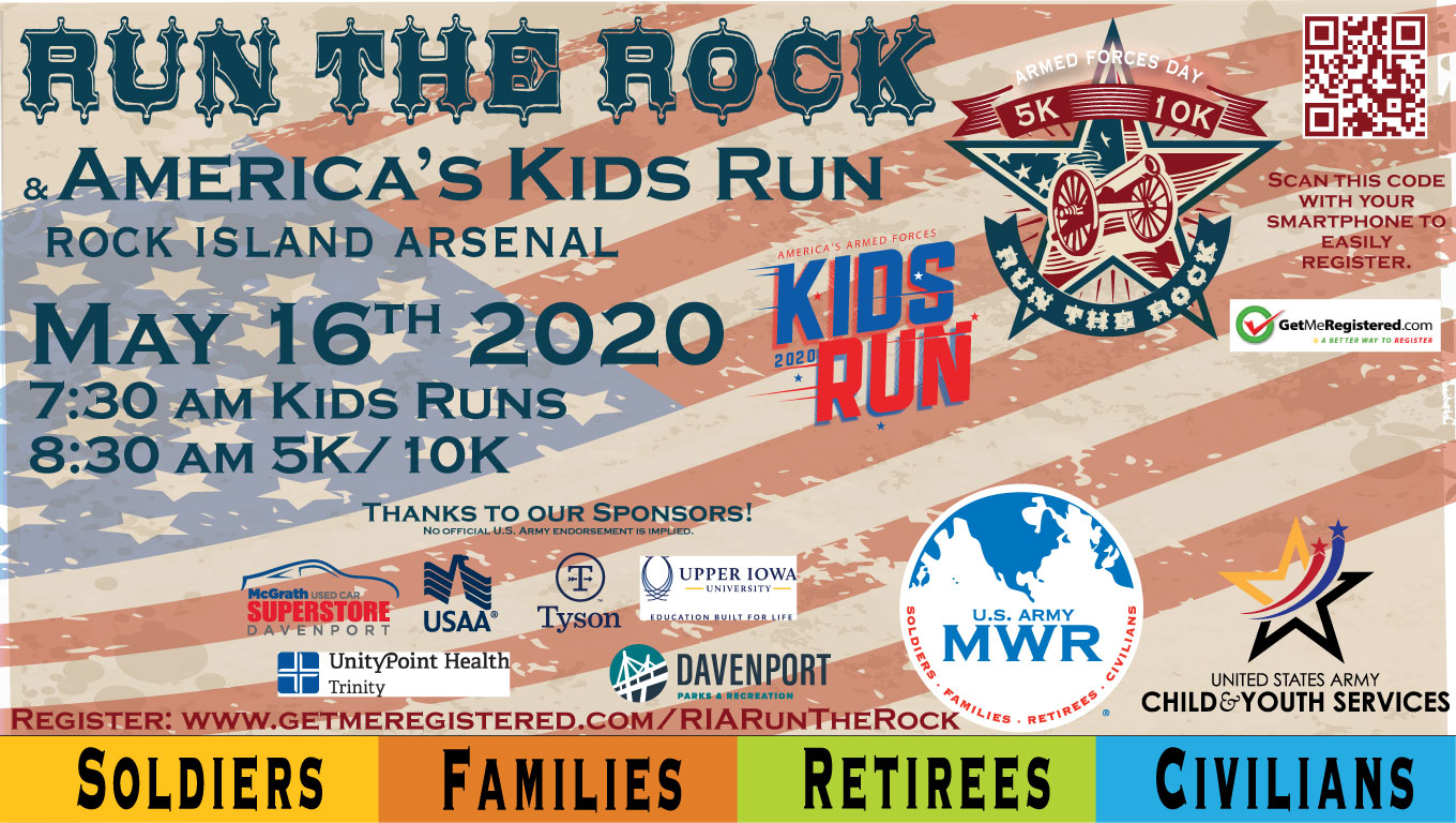 Run the Rock 5K/10K + America's Kids Run