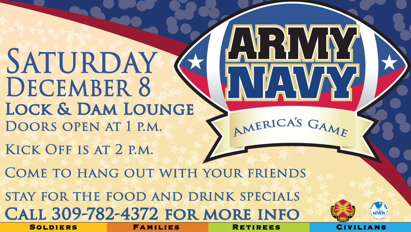 Army Navy Game Viewing Party