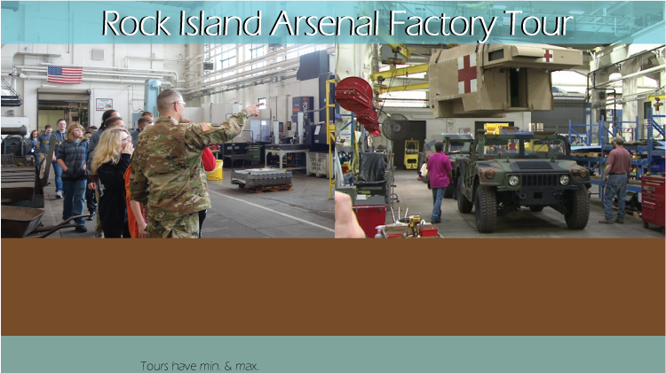 Rock Island Arsenal Factory Tour
