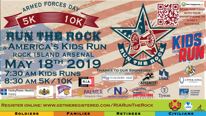 Run The Rock 5K/10K & America's Kids Run