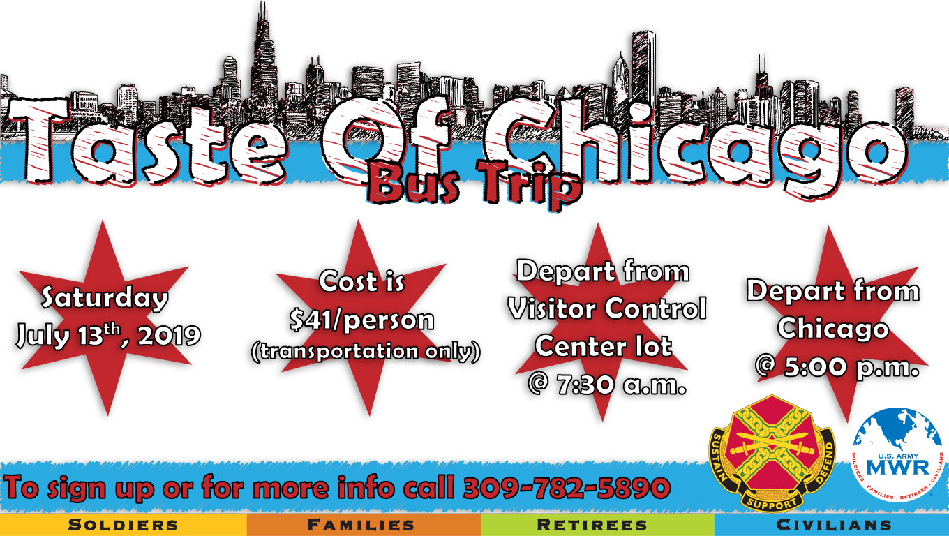 Taste of Chicago Bus Trip
