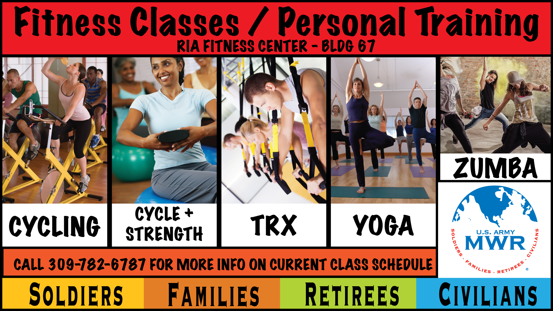 Join a Group Fitness Classes