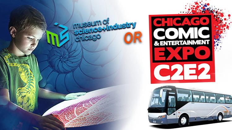 Chicago Comic & Entertainment Expo Bus Trip