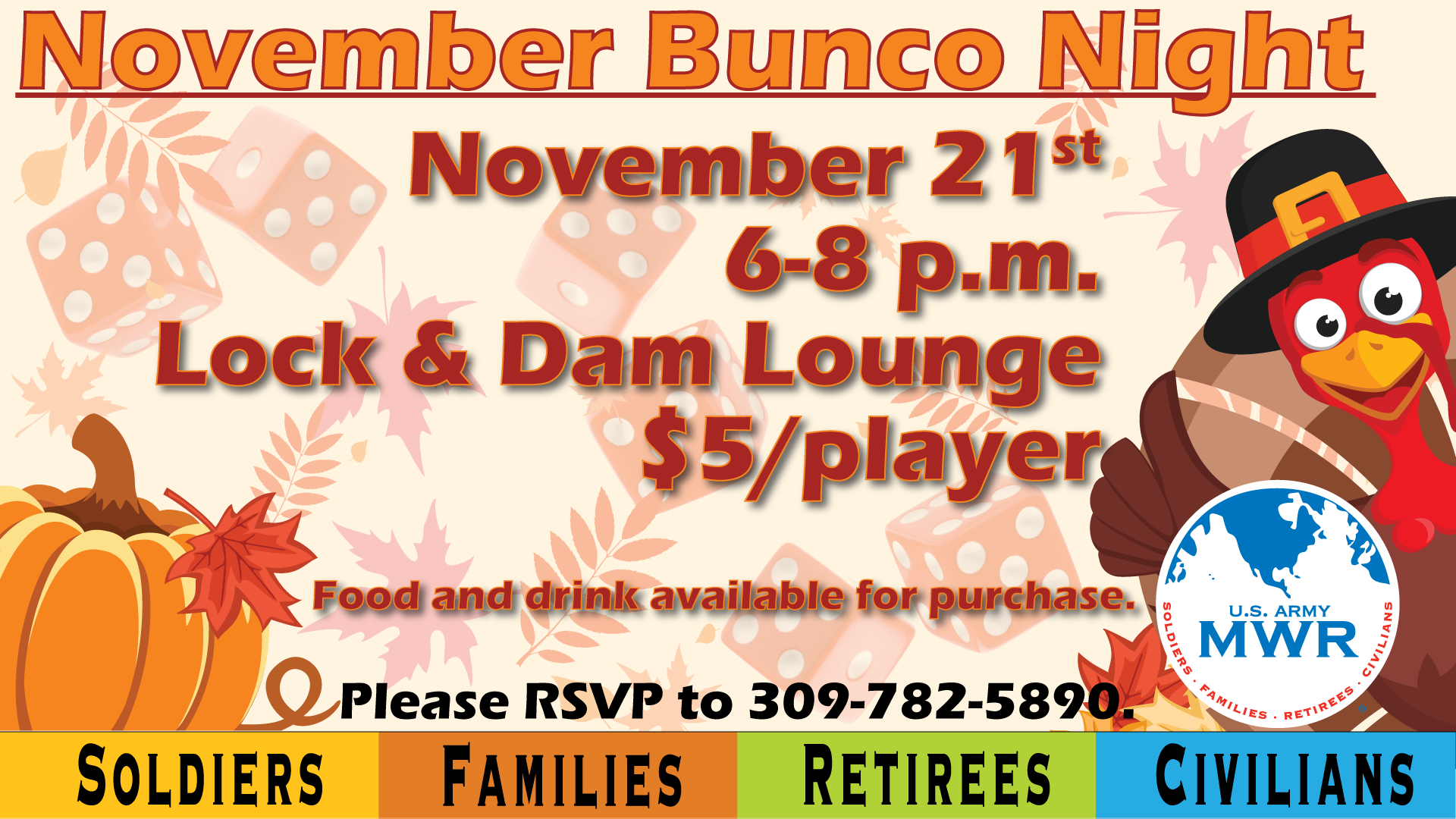 November Bunco Night