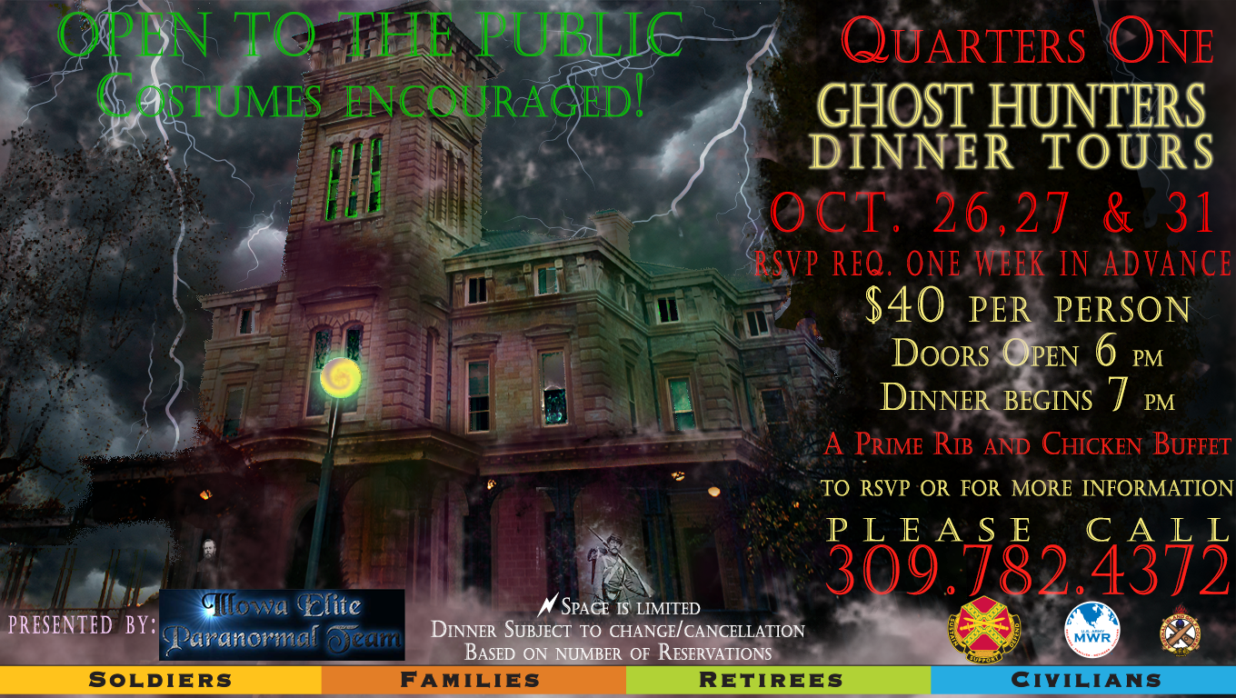 Ghost Hunters Dinner Tours