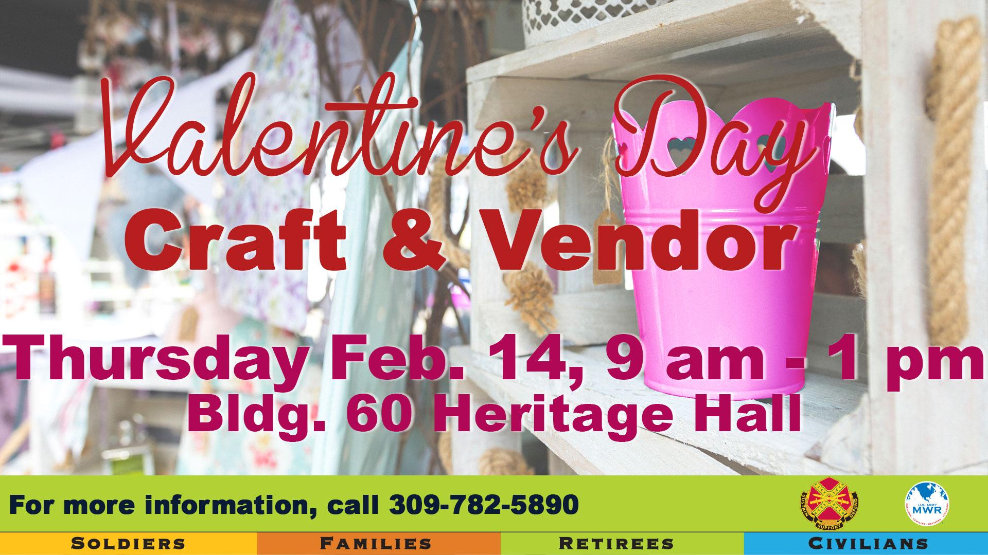 Valentine's Day Craft & Vendor Show