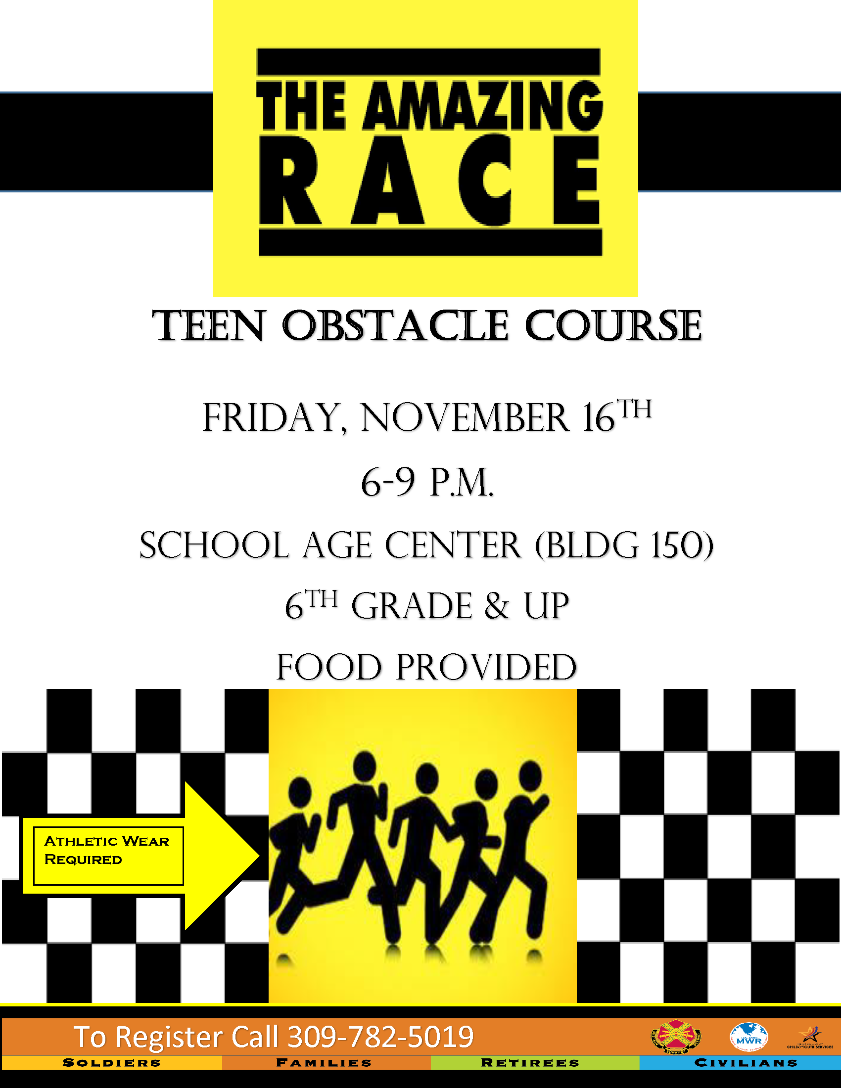 The Amazing Race Teen Obstacle Course