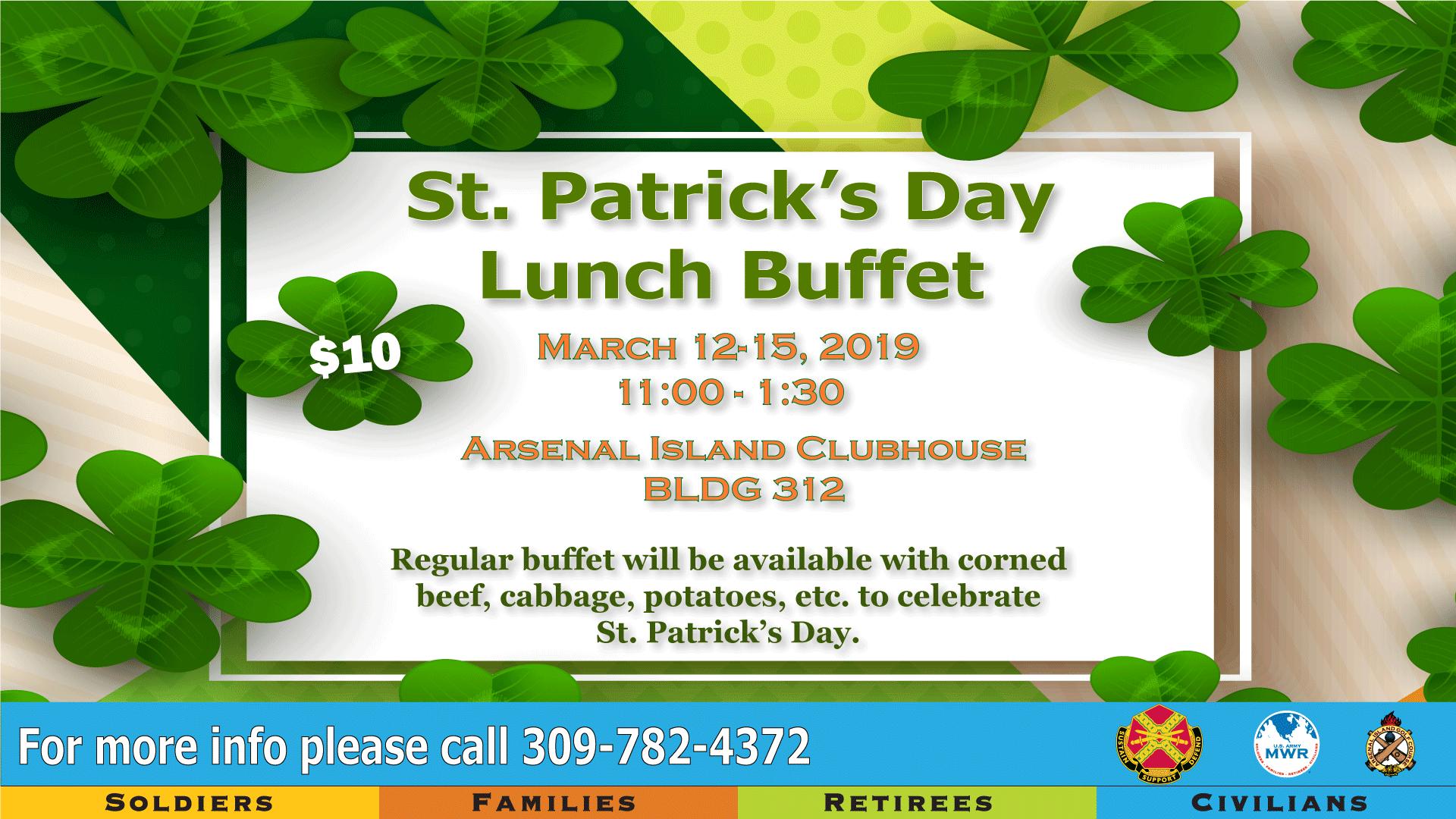 St. Patrick's Day Buffet