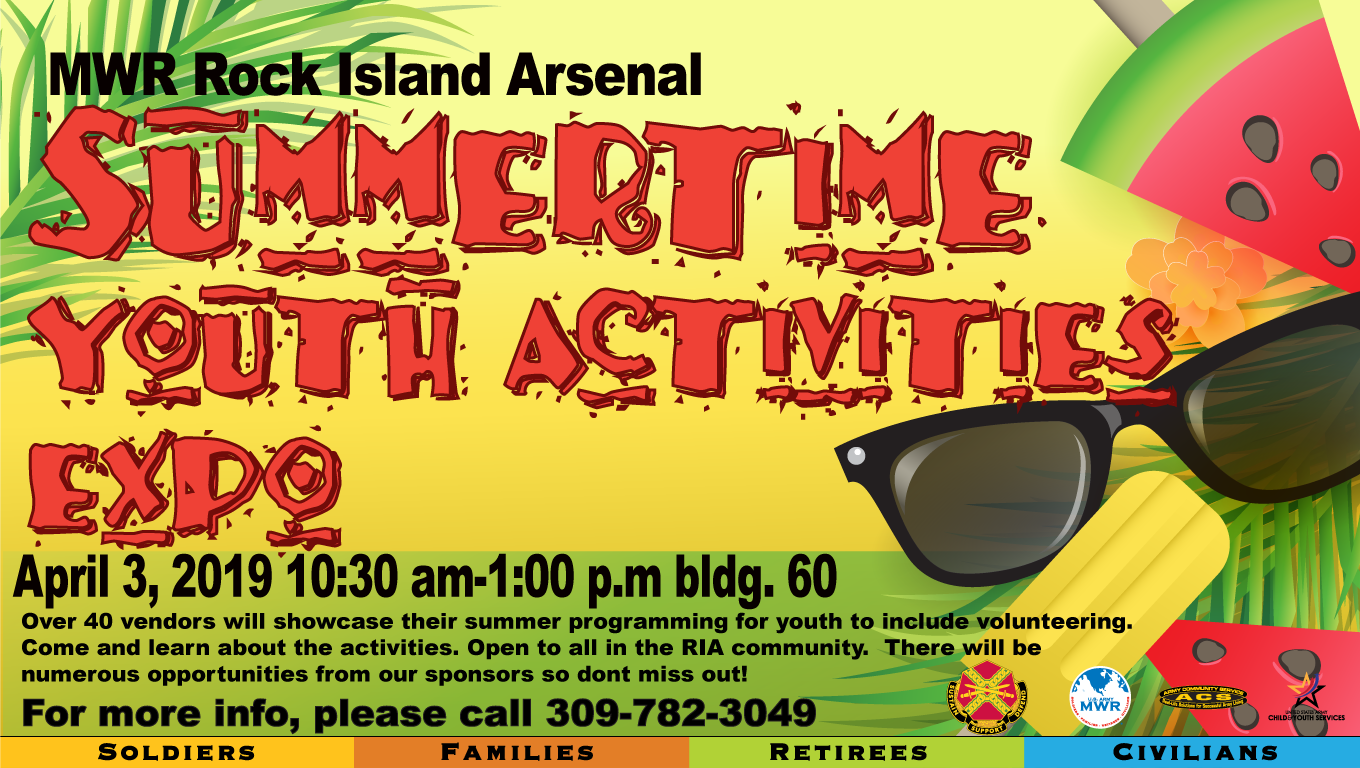 Youth Summertime Activities Expo