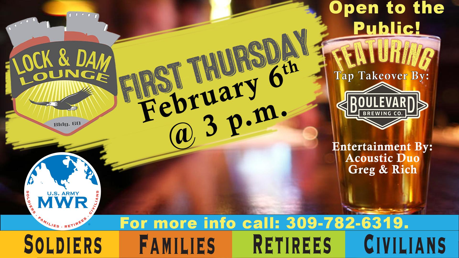 First Thursday Social