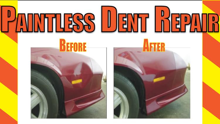 Paintless Dent Repair Service