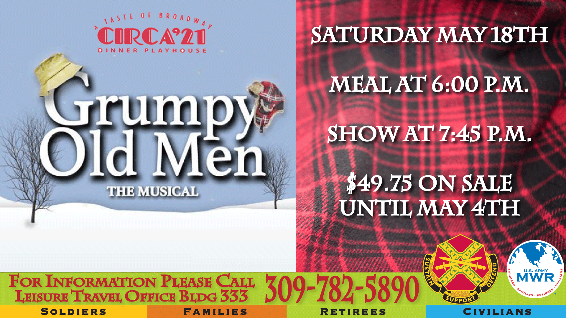 Grumpy Old Men the Musical