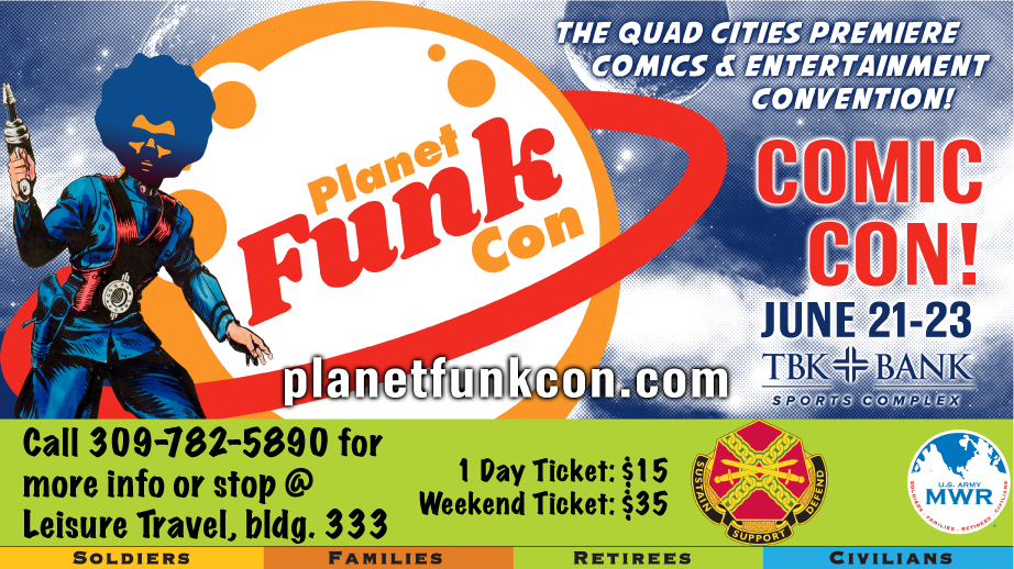 Planet Funk Con: Comic Con