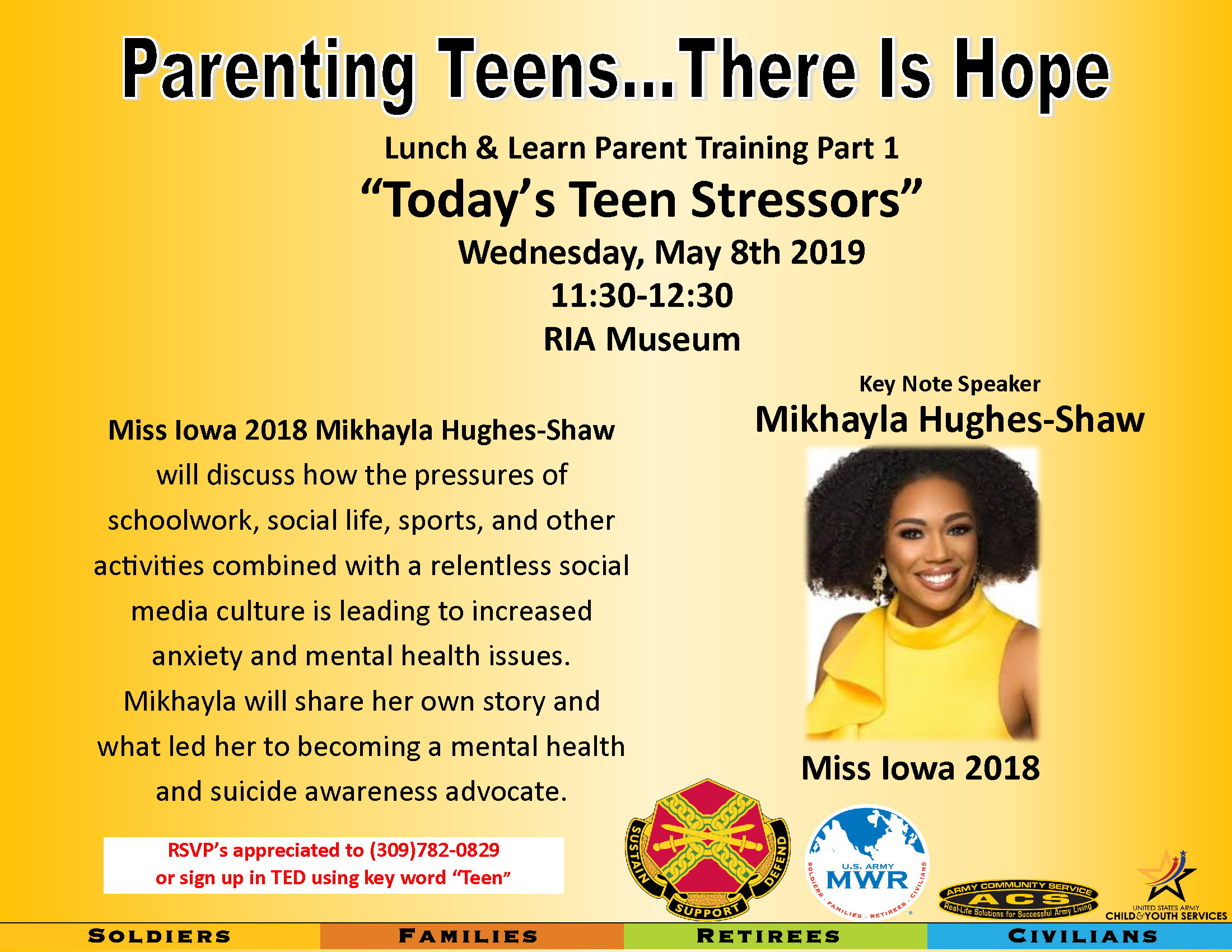 Parenting Class: Today's Teen Stressors