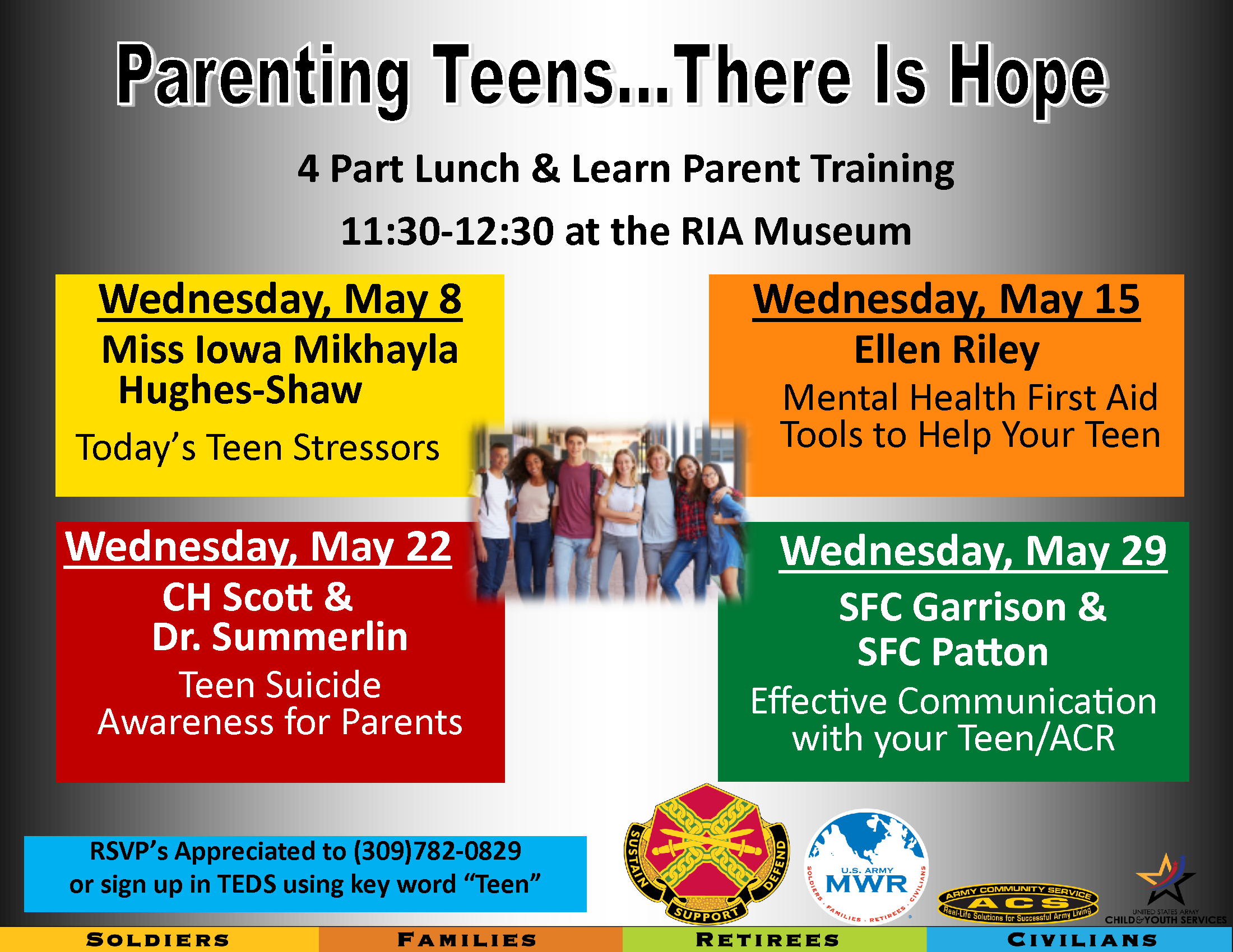 Parenting Class: Teen Suicide