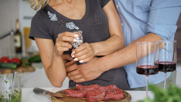 Couple's Nights: Steak Dinner Cooking Class