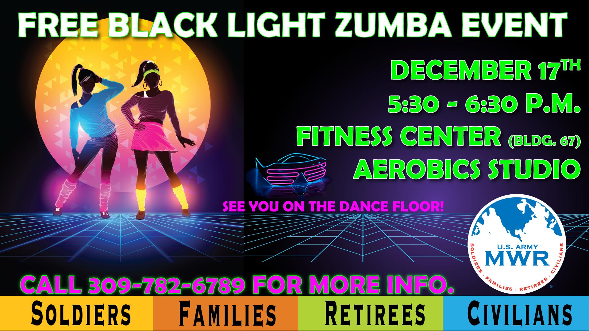 FREE Black Light Zumba