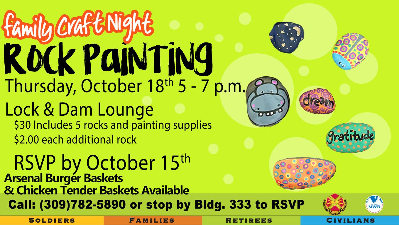 Family Craft Night: Rock Painting