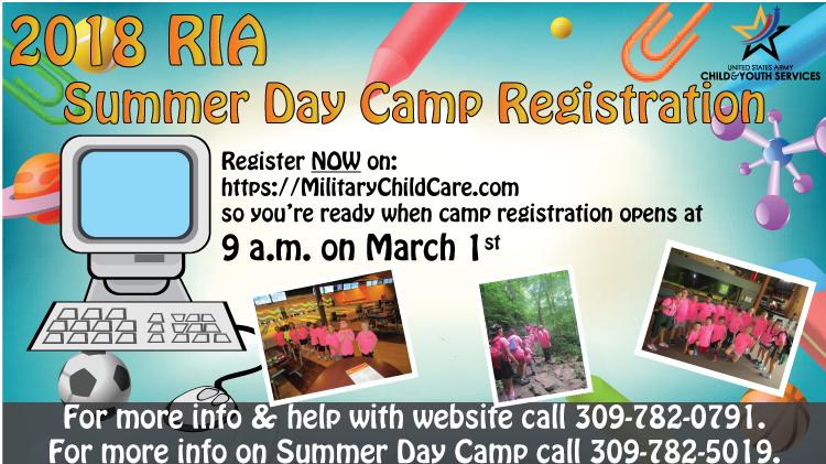 2018 Summer Day Camp Registration