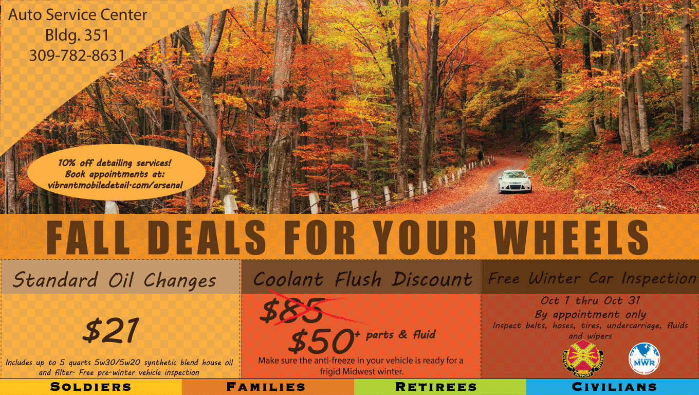 Fall Car Care Month Specials