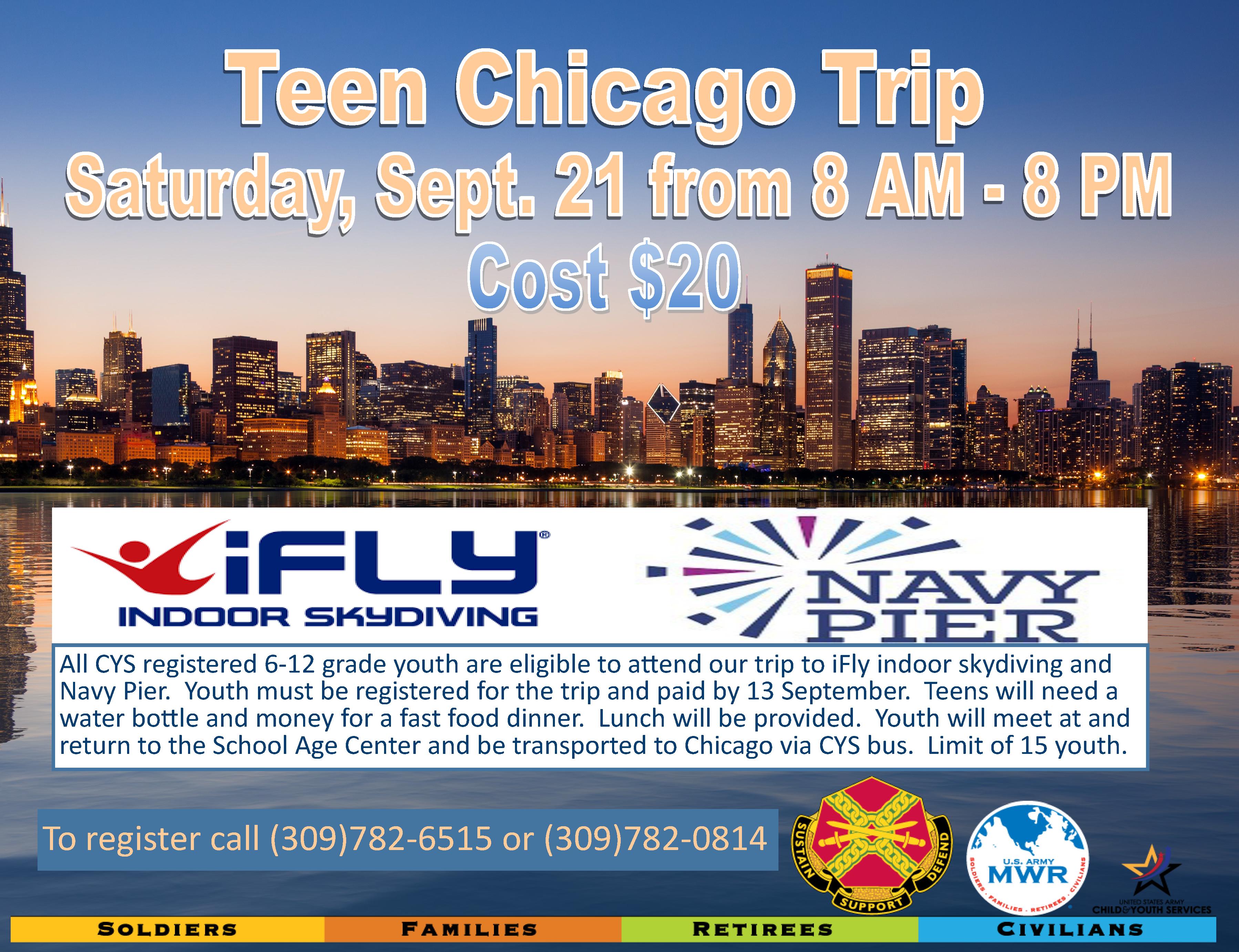 Teen Chicago Trip