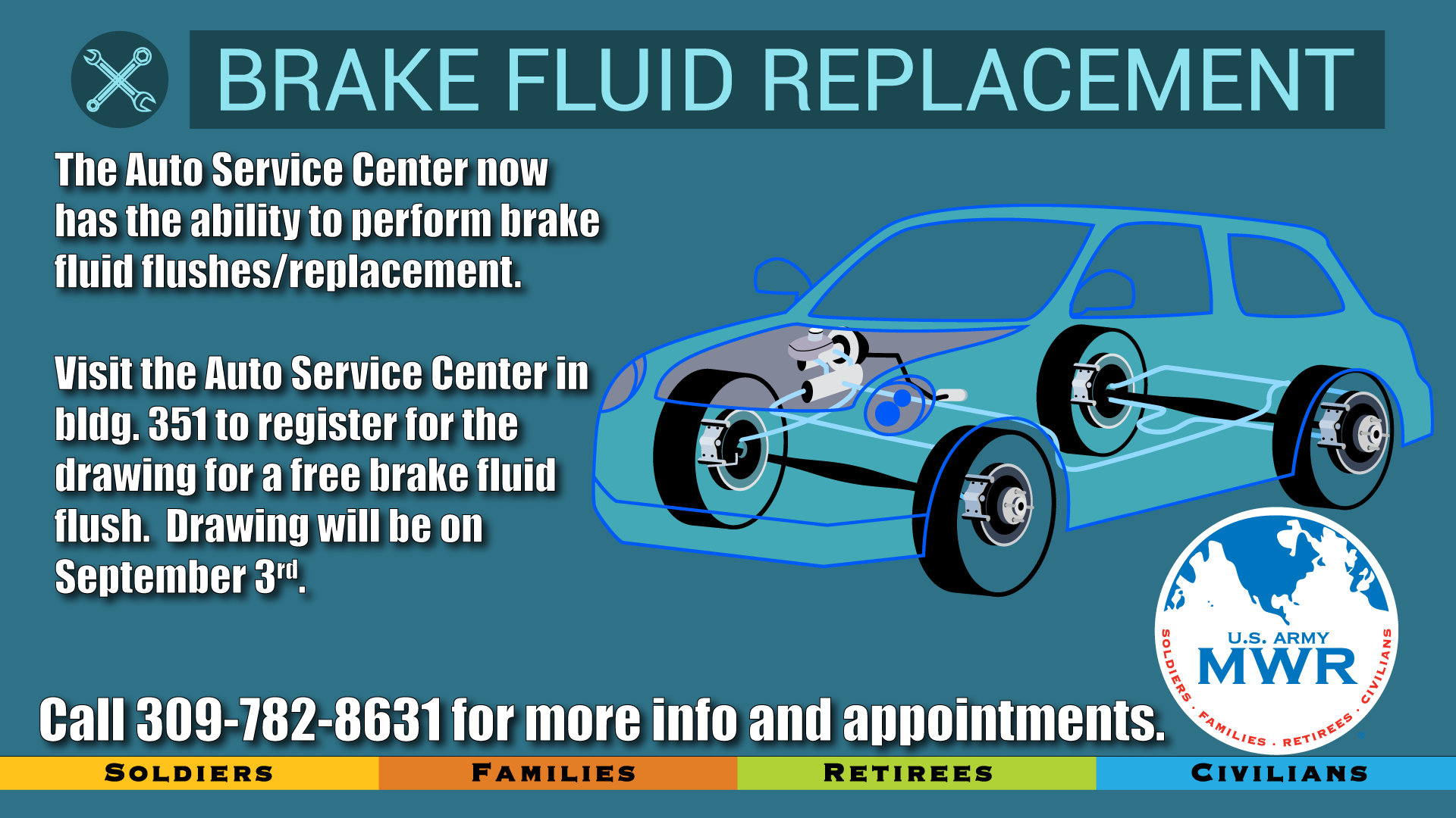 Free Brake Fluid Flush Drawing