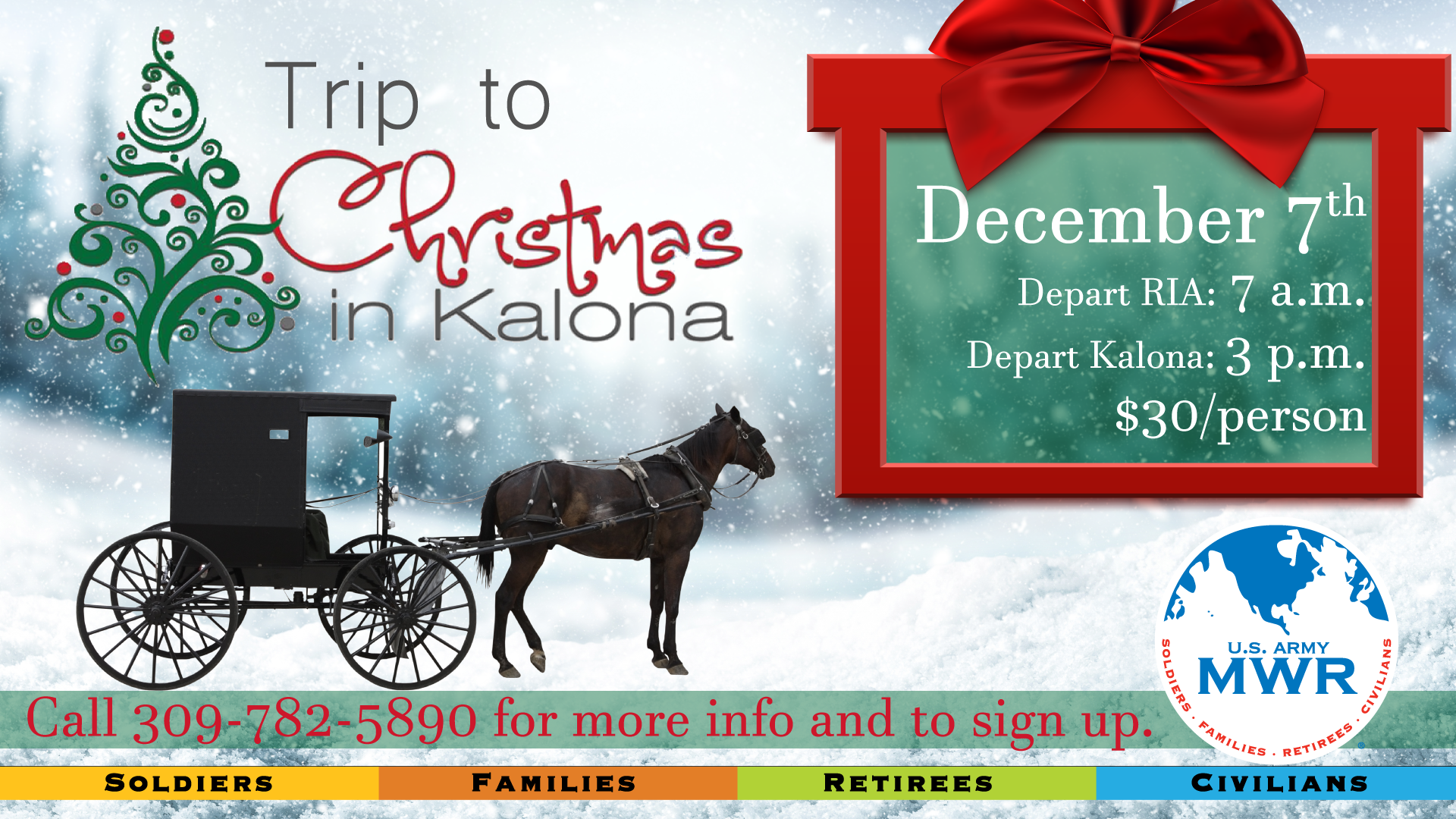 Trip to Christmas in Kalona